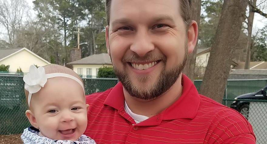 Kevin Masseth and daughter Raegan