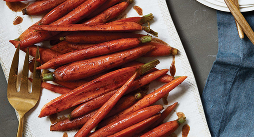 Spiced Maple Carrots