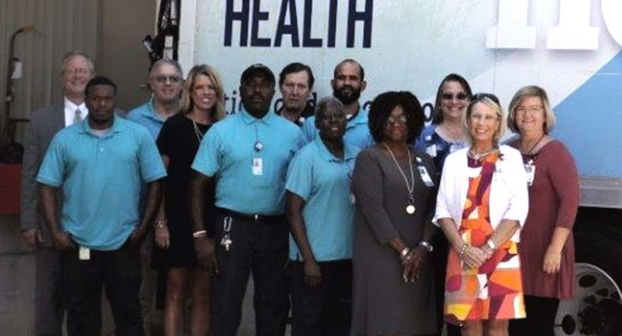 Members of the Tidelands Health supply chain management team