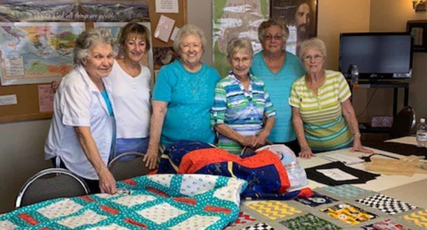 Members of the SUMC Stitchers