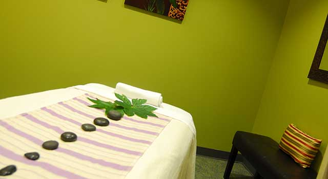 The relaxing spa at Tidelands HealthPoint is open to members and non-members.
