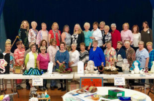 The craft ladies at Oceanside Village in Garden City Beach