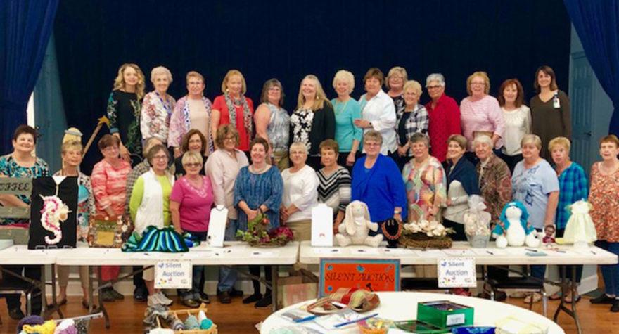 The craft ladies at Oceanside Village in Garden City Beach