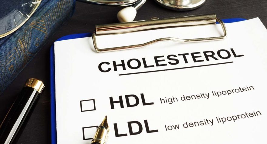 Cholesterol graphic