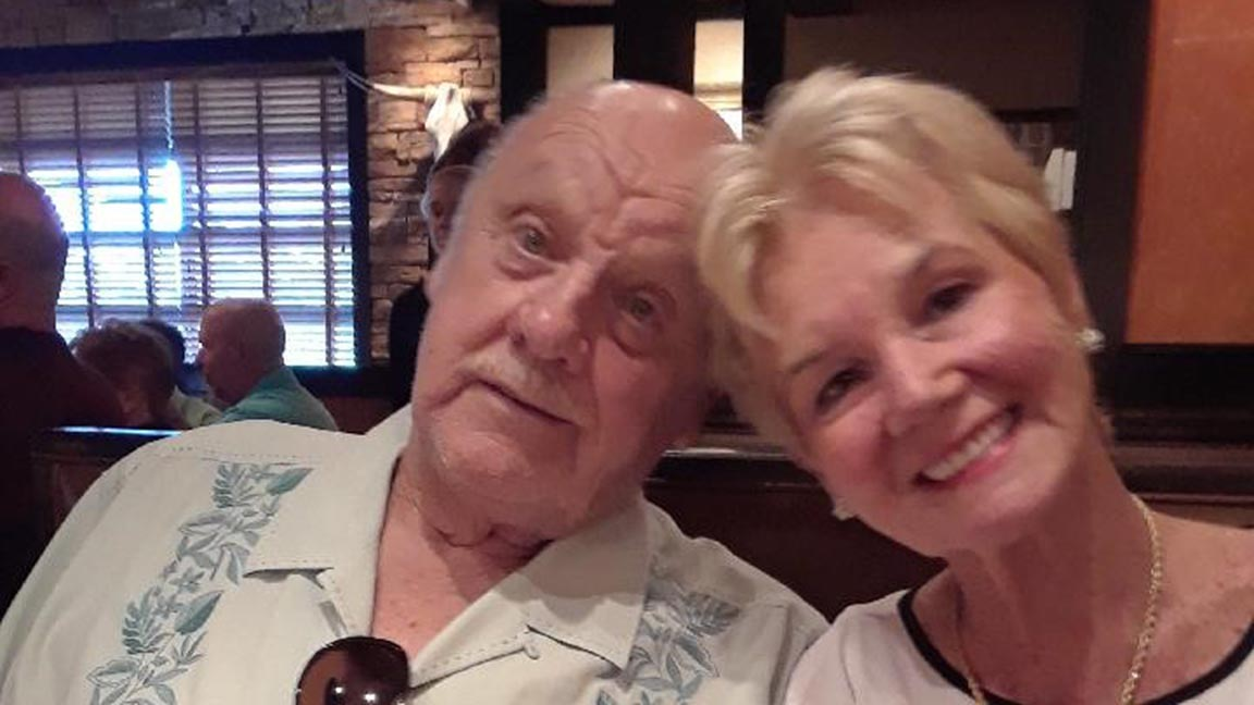 Karen Bainbridge and her husband, Arthur, were married for 57 years before he succumbed to complications from a stroke.