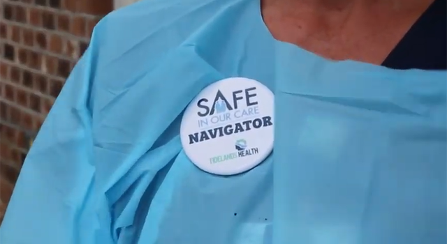 Patient safety is the top priority for Tidelands Health Safe Care Navigators.