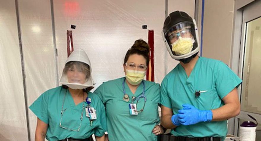 Tidelands Health respiratory therapists are on the front lines of the COVID-19 battle.