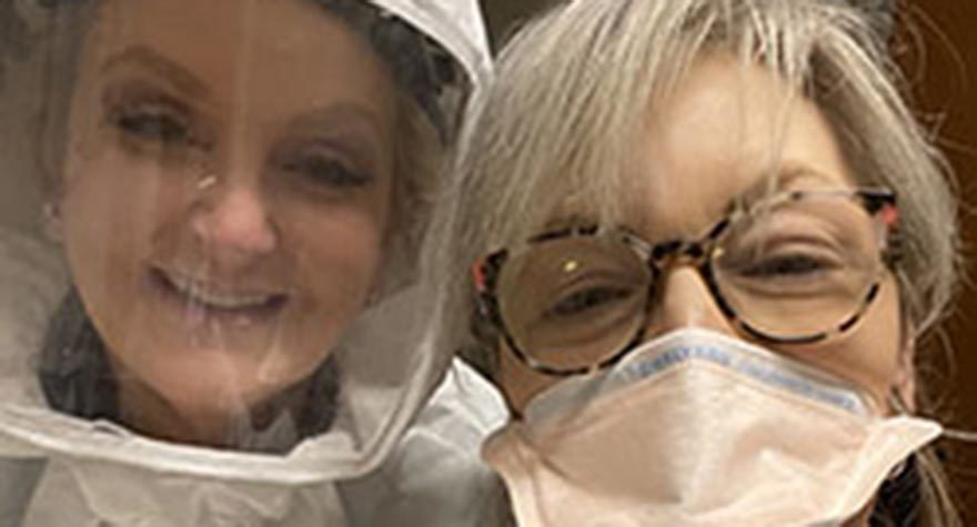 Tidelands Health respiratory therapists have bravely battled the COVID-19 pandemic.