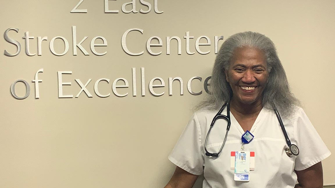 Joyce Mack has worked on 2 East at Tidelands Georgetown Memorial Hospital for more than 30 years.