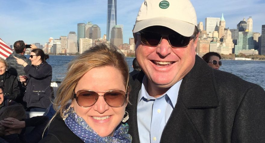 Former Golf Channel personality and Murrells Inlet resident Charlie Rymer, pictured with his wife, Carol, is on the mend after a terrifying battle with COVID-19.