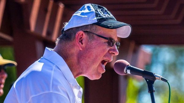Mike Haase, who has been battling Parkinson's disease for 16 years, has been playing music since 1966.