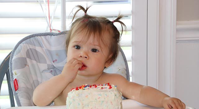 Amid the COVID-19 pandemic, Luna celebrated her first birthday with an intimate family celebration.