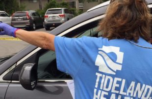 Tidelands Health has tested more than 10,000 people across the region for COVID-19 at eight testing events, and another 3,000 can be tested Friday at Myrtle Beach Pelicans Stadium.