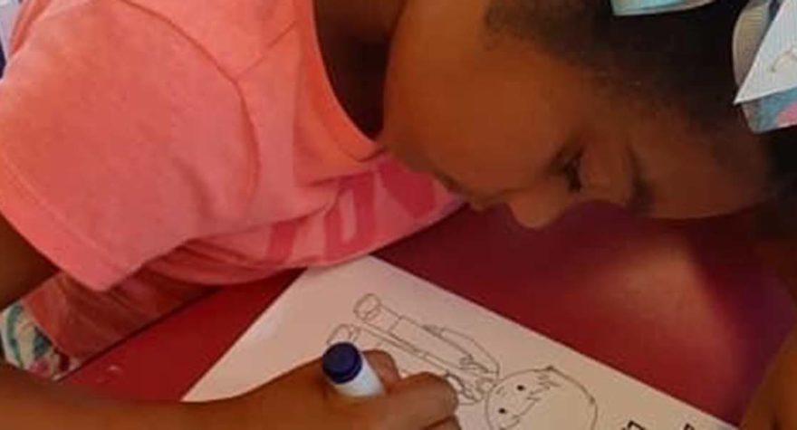 Summer camp project lifts spirits of caregivers battling COVID-19