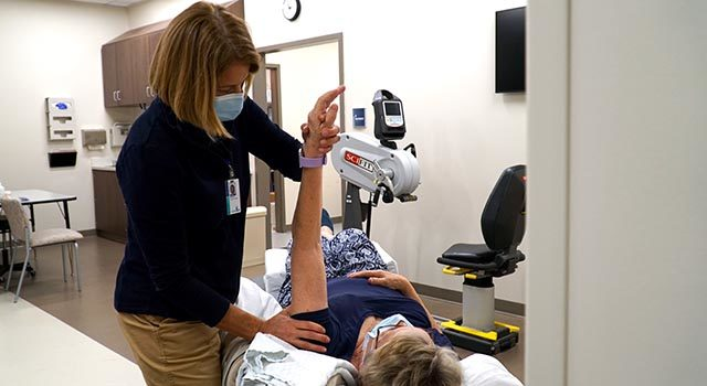 The new medical park is home to a broad range of care, including physical therapy.