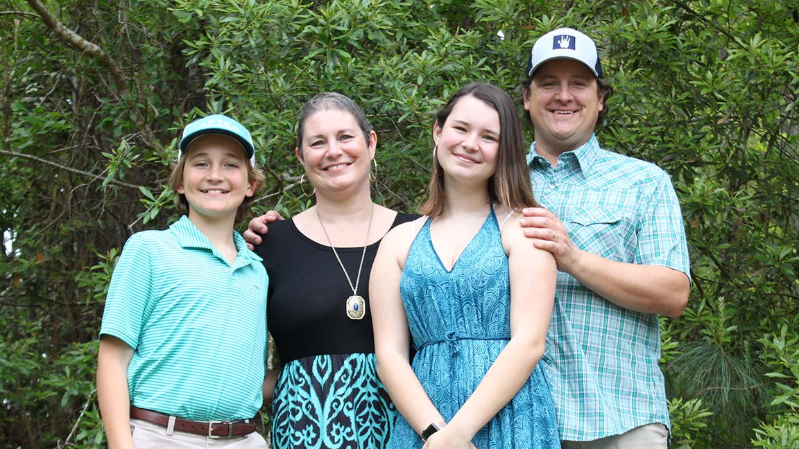 Aimee McElveen, assistant principal at Lakewood Elementary in Horry County, and her family received tremendous support as she battled - and beat - breast cancer.