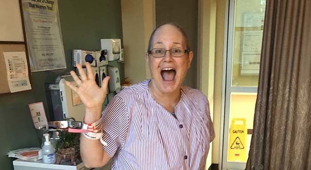 McElveen's treatment for breast cancer last year included a mastectomy, reconstructive surgery and chemotherapy. She chose to undergo a second mastectomy in January due to her young age and the risk for cancer in her other breast.