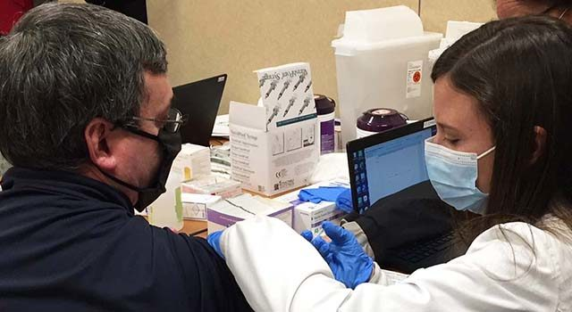 Dr. Victor Diaz-Gonzalez, a cardiologist at Tidelands Health Heart and Vascular Specialists, was eager to get the COVID-19 vaccine to encourage others to do the same when the vaccine becomes available to them.
