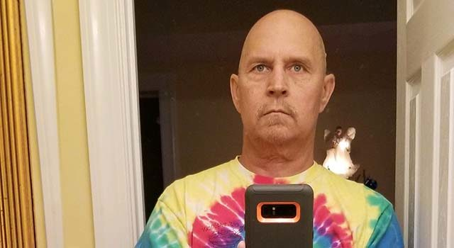 Jenkins twice lost all his hair - the first time after his initial round of treatment for sinus cancer and again after more cancer was found elsewhere in his body.