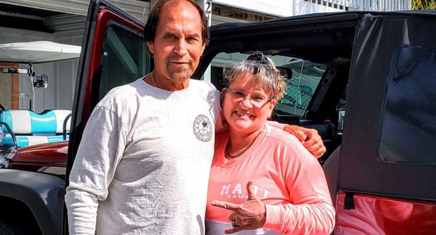 When his battle against a rare type of sinus cancer seemed hopeless, Surfside Beach resident Scott Jenkins, owner of The Ole Fashion Ice Cream Parlor, relied on his wife for support.
