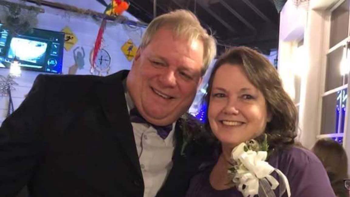 Greg and Julie Metcalfe.