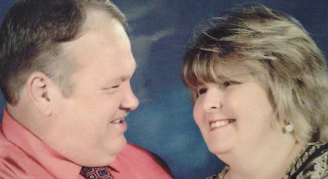 Darlene Goude was by her husband's side and talking to him when he opened his eyes, and from them on his condition has steadily improved.