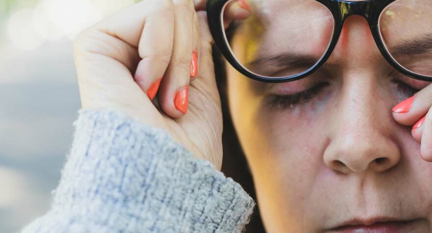 Allergies or infection: What's causing those red, itchy eyes?