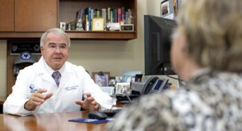 Tidelands Health family medicine physician Dr. Gerald Harmon has cared for patients in Goergetown County for more than three decades.