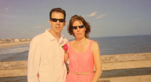 Chris Shrader and his wife, Tina.