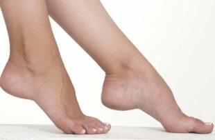 A woman's feet