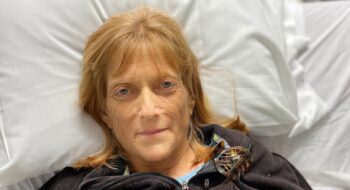 LeeAnn Schmitt is back on her feet and doing well after spending three weeks at Tidelands Health Rehabilitation Hospital at Little River.